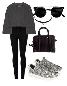 """""""yes"""" by beatriceorholm ❤ liked on Polyvore featuring adidas Originals, Wolford, Givenchy and DANNIJO"""