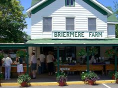 Briermere Farm in Riverhead is renowned for its fruit pies. (Photograph by peterkellystudios, Flickr) Long Island, NY