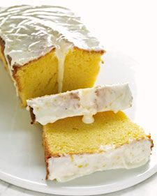 Meyer Lemon Pound Cake Recipe & Video | Martha Stewart.  California Favorite Desserts!