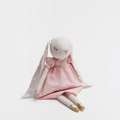 DRESSED BUNNY SOFT TOY WITH LONG EARS - Toys & Teddy - Decoration | Zara Home Spain