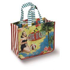 Cote d'azur beach bag