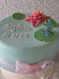 Top Water Lily Cakes - Top Cakes - Cake Central