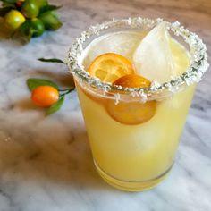 Cara Cara Margarita with Kumquats | Eat • Drink • Garden • Santa Barbara, California