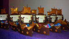 barco hadas y piratas para golosinas