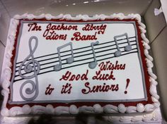 marching band decorated cake - Google Search