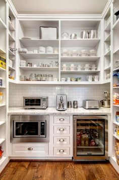 21 We'll Designed Pantries You'll Love!