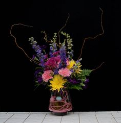 Flowers for Easter from Rittners Floral School, Boston, MA.   www.floralschool.com