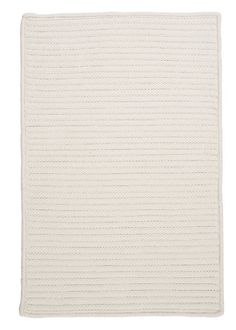 Colonial Mills Simply Home Solid H141 White / Neutral  Rug http://www.buyarearugs.com/rugs-h141-white-1-xgx.html