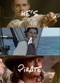 Will Turner ~ Pirates of the Caribbean Legolas, Orlando Bloom, Will And Elizabeth, Elizabeth Swann, On Stranger Tides, Johny Depp, Captain Jack Sparrow, Pirate Life, Raining Men