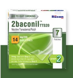 2baconil Nicotine One Month 14mg Patch Therapy · 14 mg is the starting strength for a person who smokes less than 20 cigarettes per day and second step for a .. Nicotine Patch, State Holidays, One Month, Natural Disasters, Patches, Strength, Therapy, One Month Old