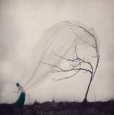 Conceptual Self-Portraits Tap Into Photographer Kylli Sparre's Fantastical Imagination
