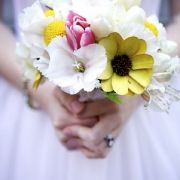 whimsical flower bouquet