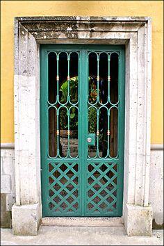 the #green gate #doors