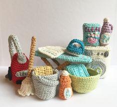 Household-set Amigurumi Pattern
