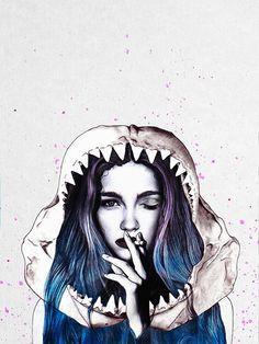 Cold Blood. Illustration © Jenny Liz Rome.