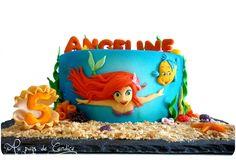 Gâteau La petite sirène Little mermaid cake