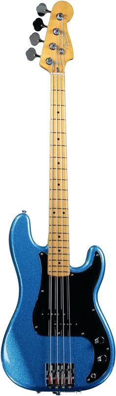 "Fender ""Steve Harris"" Precision Bass •Metallic Blue"