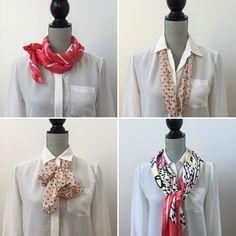 4 façons faciles de nouer un foulard...