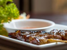 BBQ Pork served with Sweet Chilli Sauce