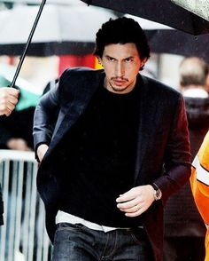 Someone told him he won't finish what Darth Vader started . #adamdriver