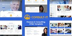 ConsultIt - Consulting & Finance HTML5 Template
