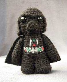 PDF of Darth Vader - Star Wars Mini Amigurumi Pattern