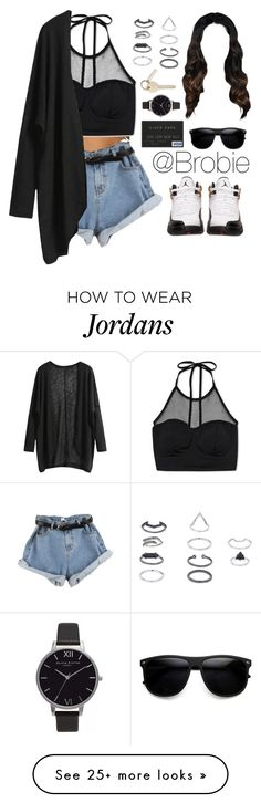 """260"" by trillest-queens on Polyvore featuring мода, Forever 21, Retrò, Olivia Burton и Topshop"