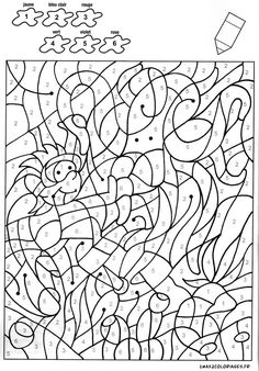 MindWare Color by Number Printables | Coloring pages for adults ...