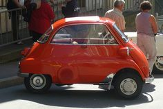BMW Isetta orange ... by bayernernst, via Flickr