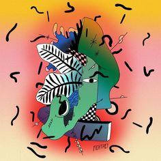3 - Un mélange visionnaire entre Kawaï et Zlabia  #FICHTRE #1tete #dessins #drawings #365tetes #sketchaday Kawaii, Drawings, Kawaii Cute, Kauai