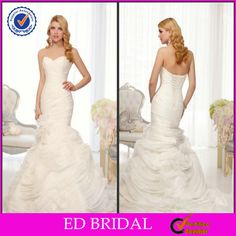 530a458858e 2015 Simple Sweetheart Ruched Organza Julie Vino Wedding Dresses China