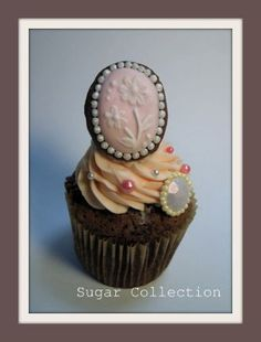 cup cake3 by JILL's Sugar Collection, via Flickr