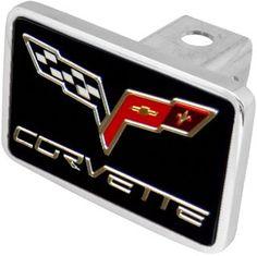 C6 Corvette Logo/Letters XL Hitchplug