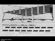 Paris parking garage melnikov volume pinterest to be for Garage mercedes paris 13