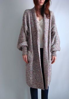 Great shape and length -- Sweater Coat
