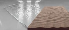 """Milling """"droplet"""" effects into plywood and other materials.  Awesome concept."""