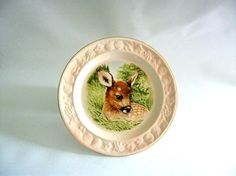 Vintage Royal Worcester Palissy Collector Plate Bambi by mish73, £7.50