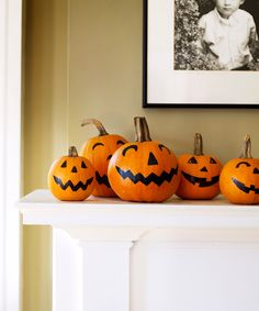 Save Time With No-Carve Pumpkins