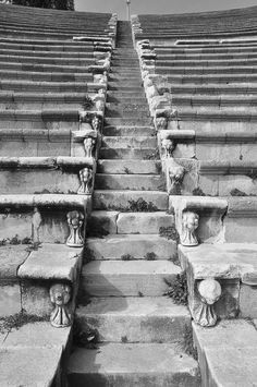 ampfi theater steps by Emel Akar on 500px
