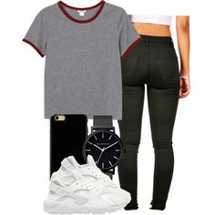 || 7:26 p.m by abbygaile-jean on Polyvore featuring polyvore, beauty, Sonix, The Horse, Monki and NIKE