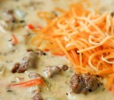 My venison cheeseburger soup is a guaranteed belly warmer.This is comfort food at