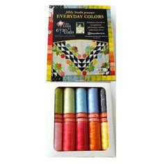 Aurifil Thread Set  Everyday Color by Jill by DragonflyRealm