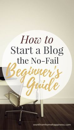 This no-fail beginner's guide will help you setup a money-making blog using WordPress -- no experience required!