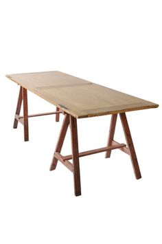 VINTAGE FRENCH ATELIER TABLE