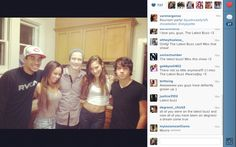 A THE LATEST BUZZ REUNION ! DEMETRIUS JOYETTE <3 VANESSA MORGAN <3 JUSTIN KELLY <3 ZOE BELKIN <3 MUNRO CHAMBERS <3