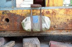 Patchwork Duffle by FADEDBRAND on Etsy