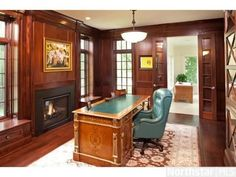 traditional executive office