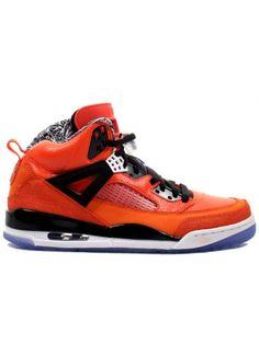 best sneakers 2ac4d 091b3 New Color Air Jordan Spizike Knicks Orange Shoes