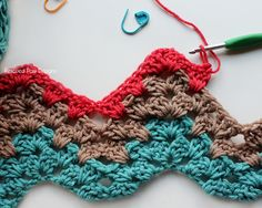 Granny Ripple Crochet Pattern Free Tutorial by Rescued Paw Designs Crochet