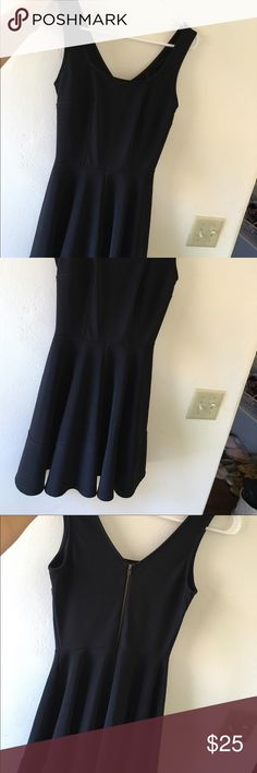 Black LULU dress. Great quality! Worn once I've worn this once for a school dance. Perfect quality! Fast shipping! Make an offer Lulu's Dresses Mini